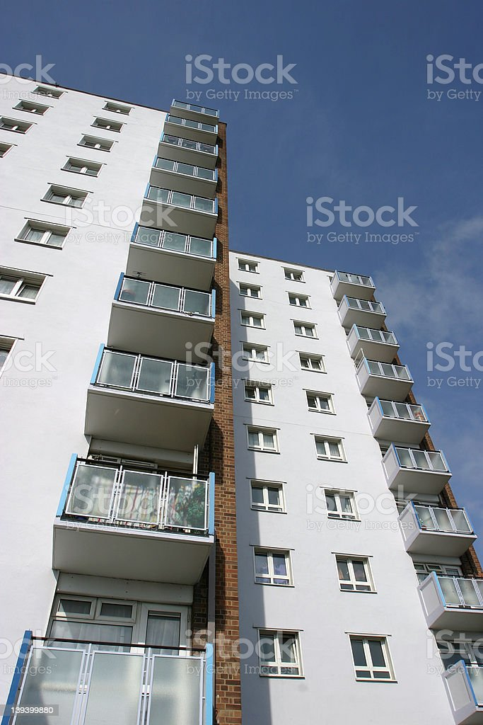 High Density Housing 3 royalty-free stock photo
