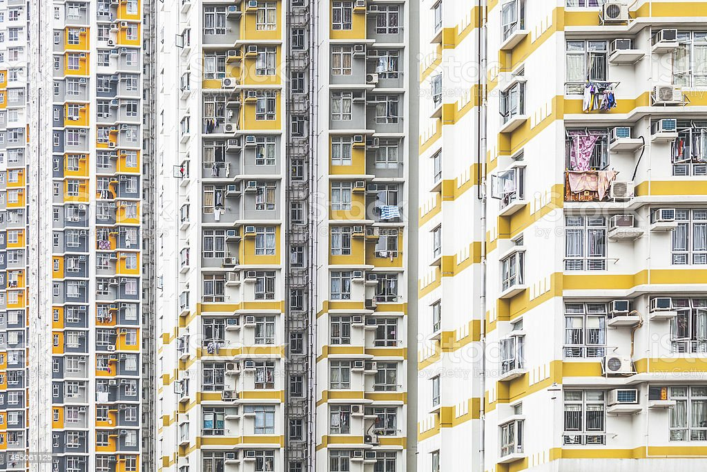 High density living. stock photo