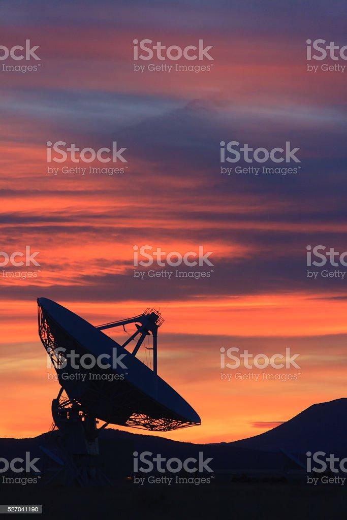 High desert New Mexico stock photo