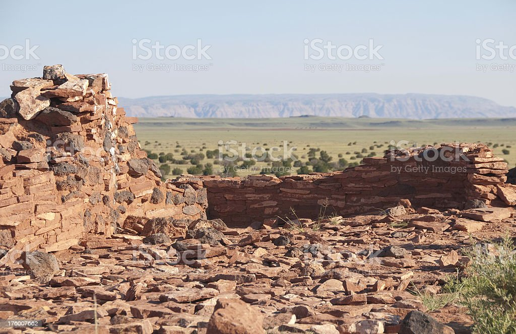 High Desert Ruins royalty-free stock photo