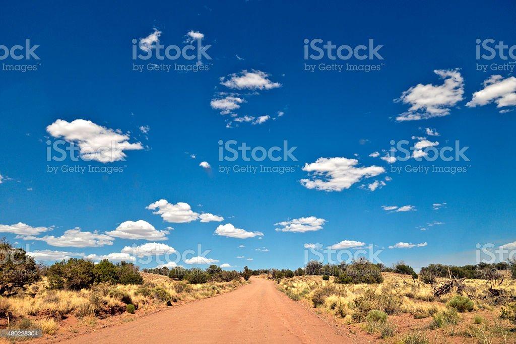 High Desert Sky stock photo