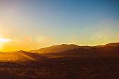 High Desert Sunrise - Carson City Nevada