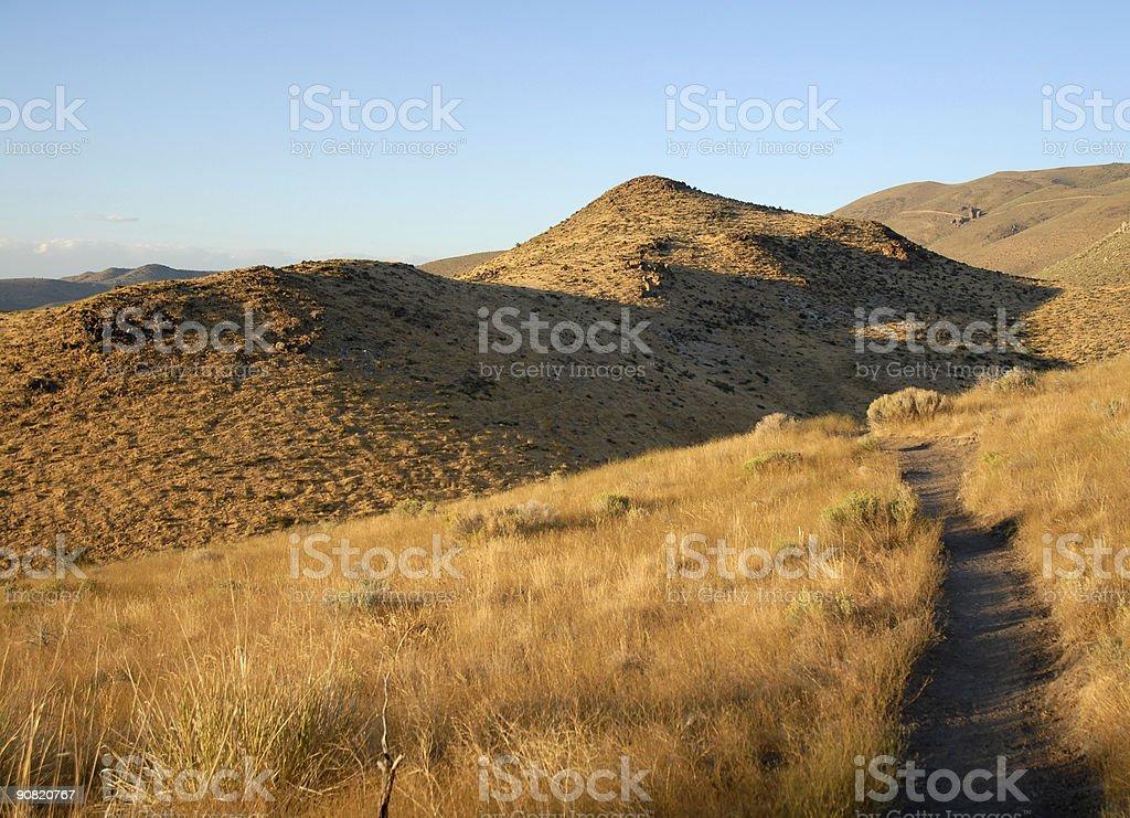 High Desert Trail royalty-free stock photo