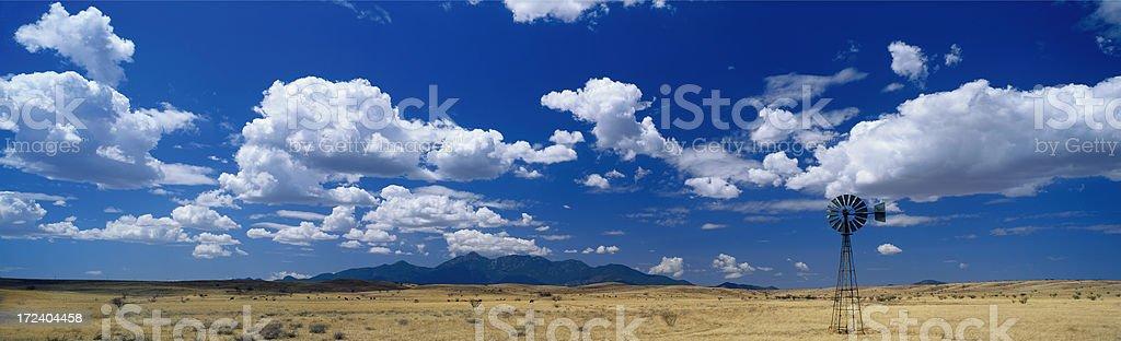 High Desertscape Panoramic royalty-free stock photo