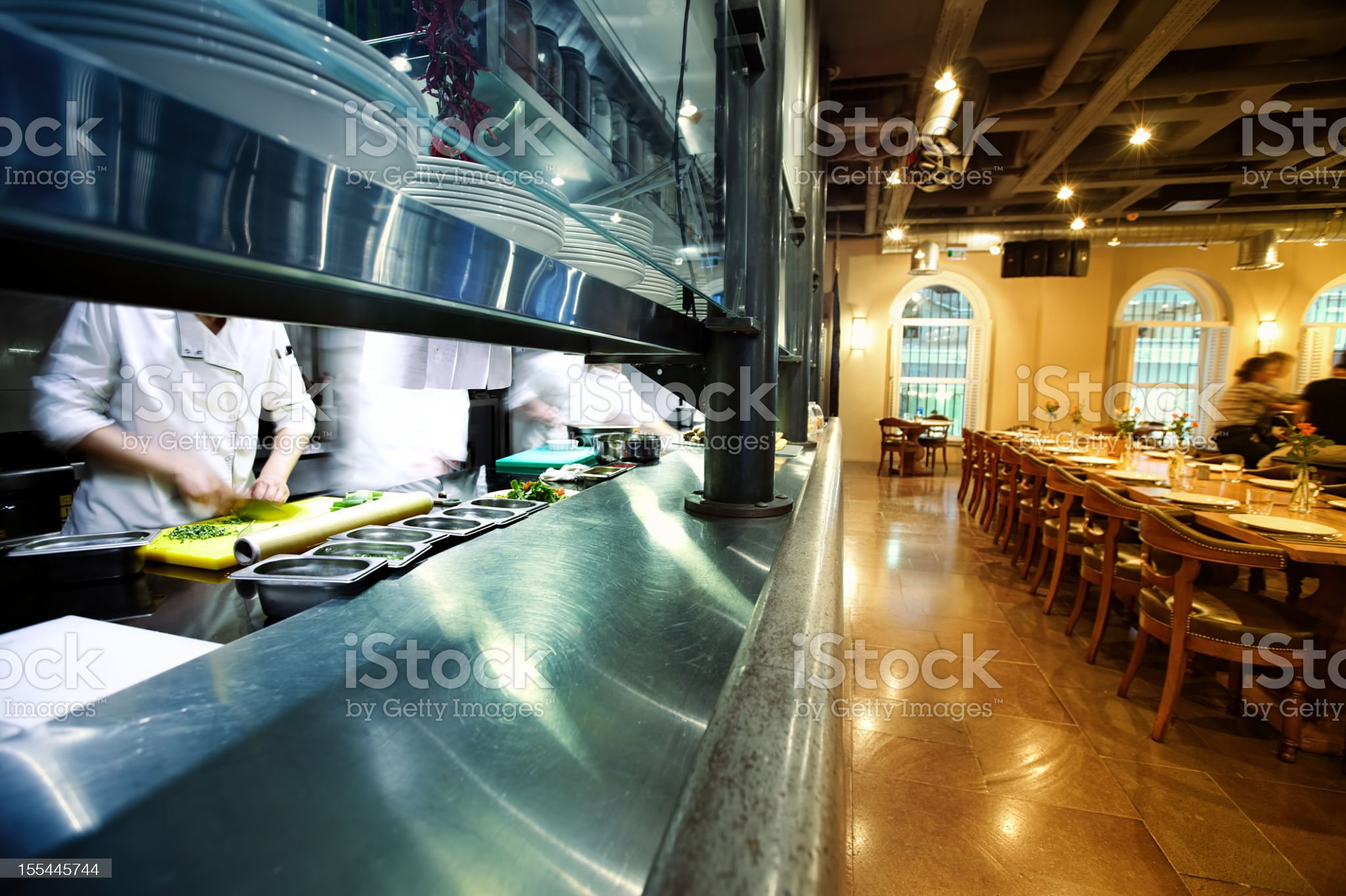 High End Restaurant royalty-free stock photo