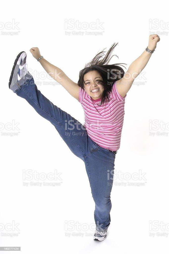 High Energy Teen stock photo