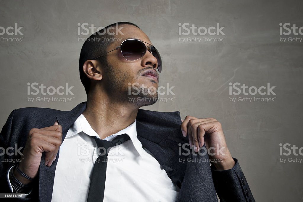 High fashion model royalty-free stock photo