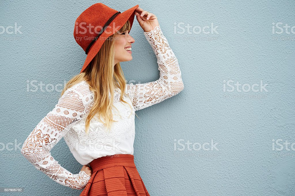 High fashion on model stock photo