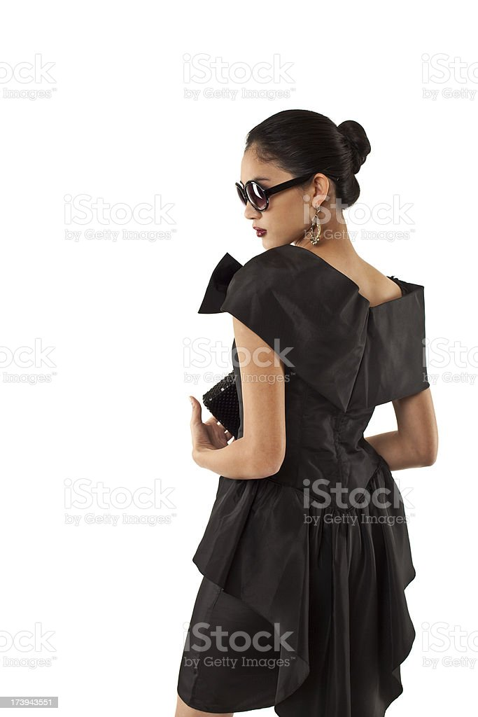 Haute couture royalty-free stock photo