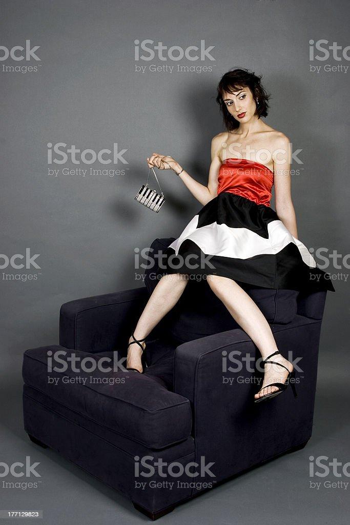 High Fashion royalty-free stock photo