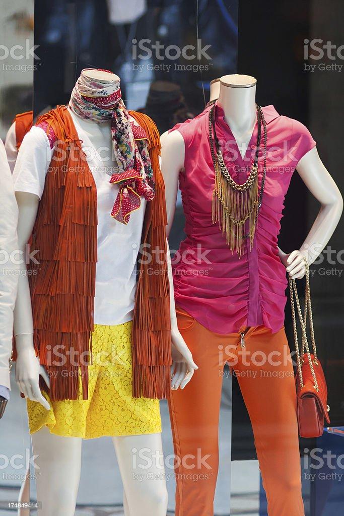 High fashion store royalty-free stock photo