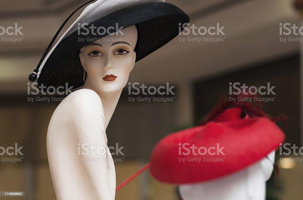 High fashion store stock photo