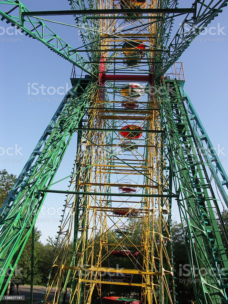high ferris wheel royalty-free stock photo