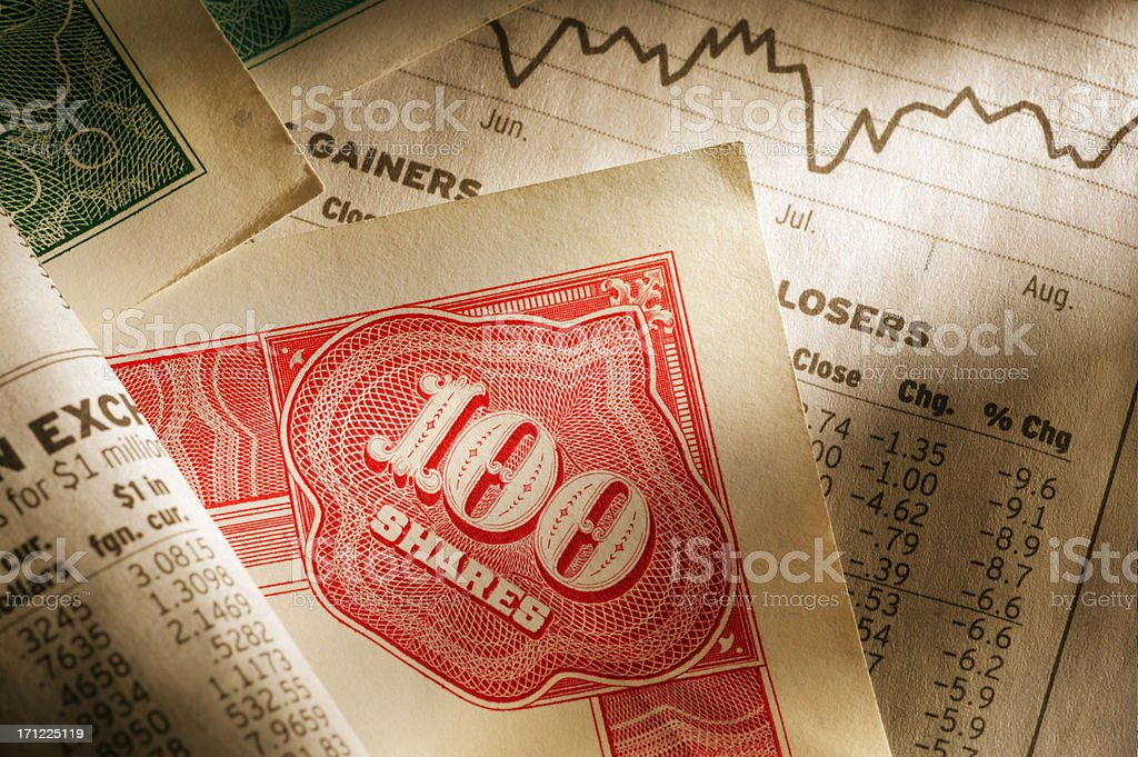 High Finance royalty-free stock photo