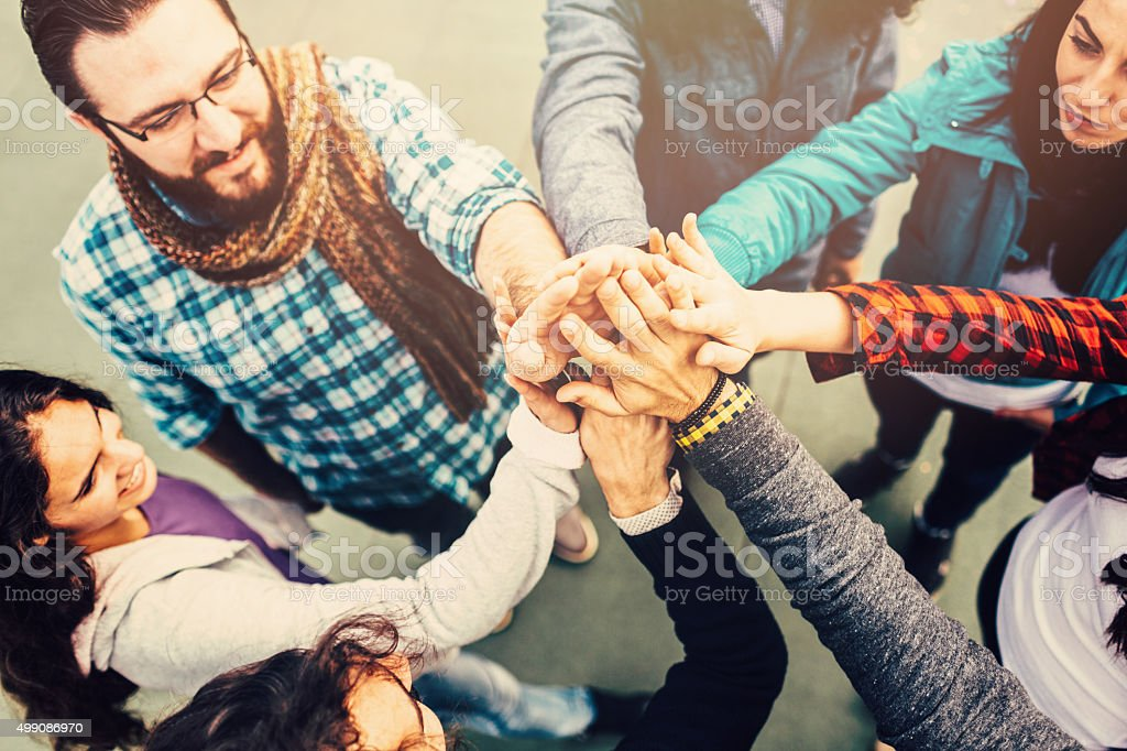 High five stock photo