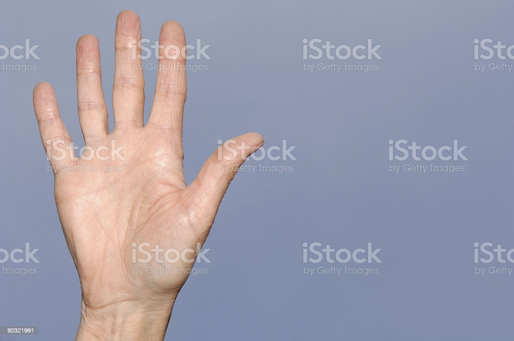 High Five! royalty-free stock photo