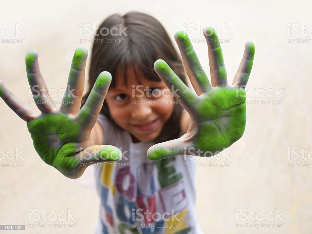 high fives royalty-free stock photo