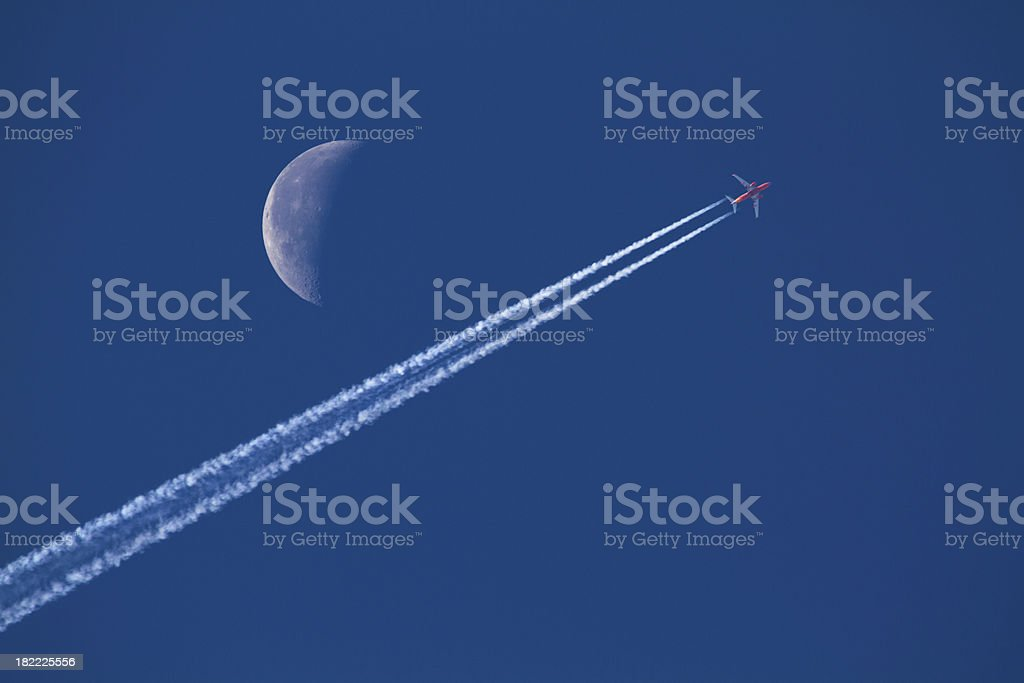 High Flyer stock photo