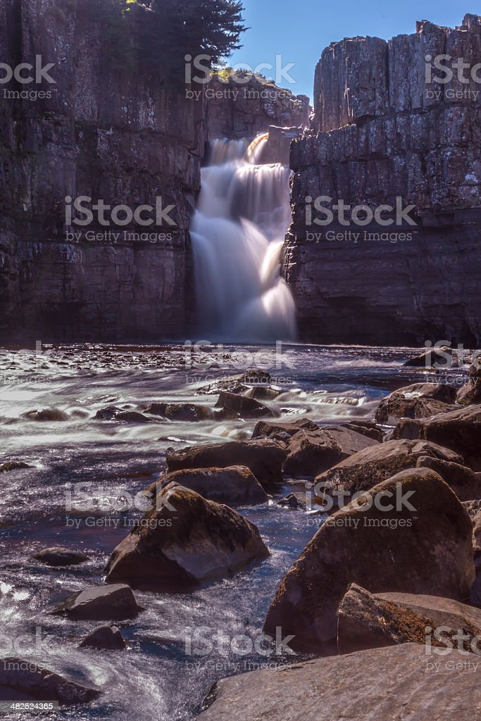 High Force and the River Tees stock photo