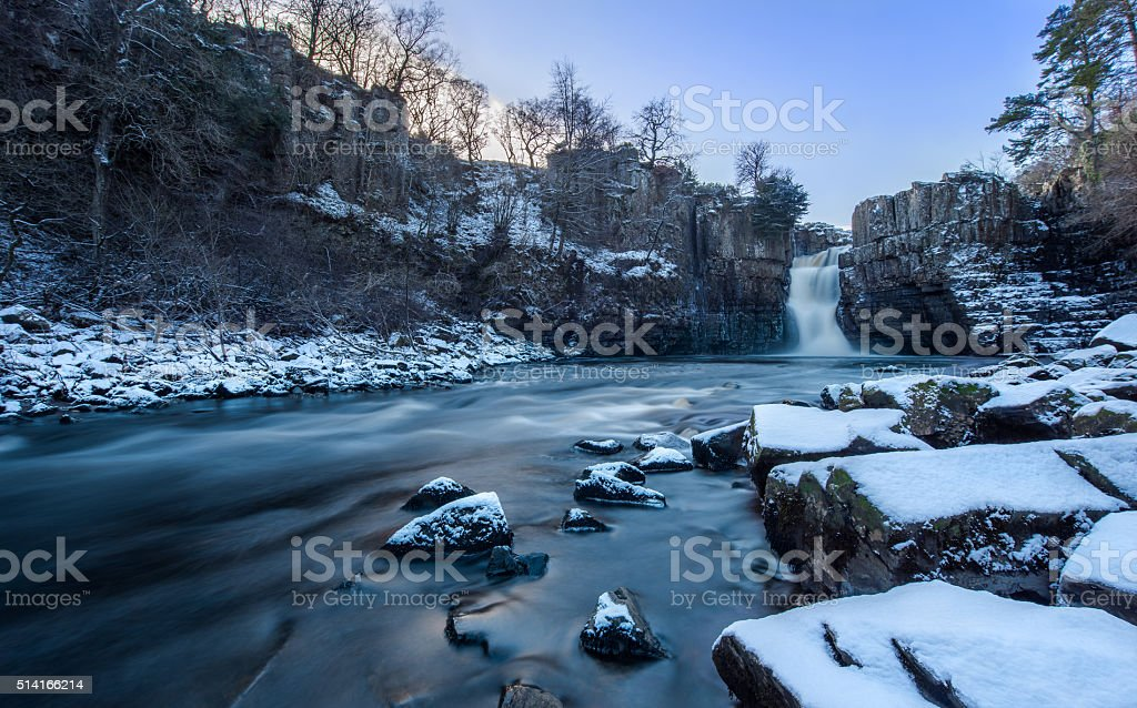 High Force Falls stock photo