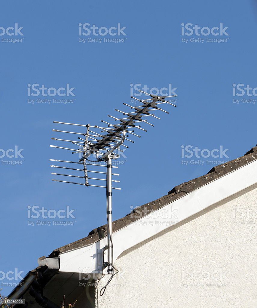 High Gain Antenna stock photo