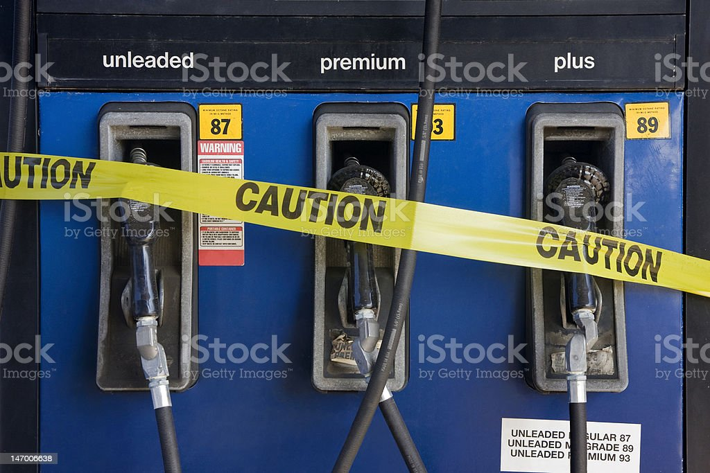 High Gas Prices stock photo