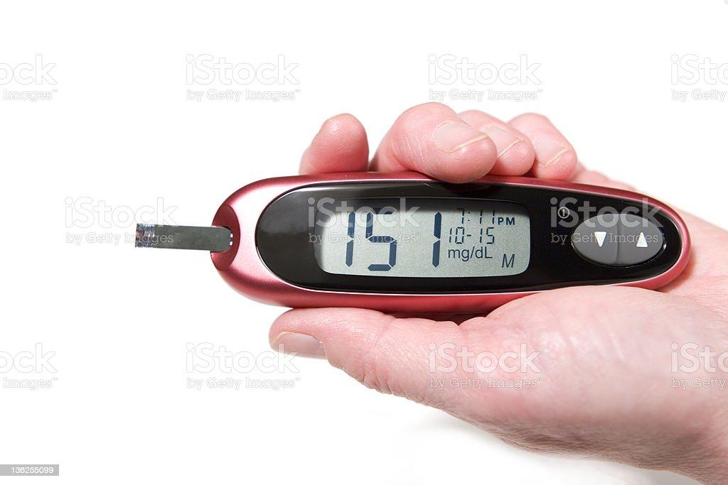 High Glucose Level royalty-free stock photo