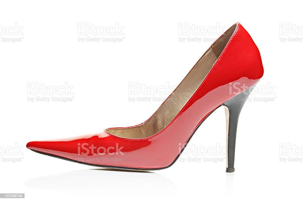 High heel royalty-free stock photo