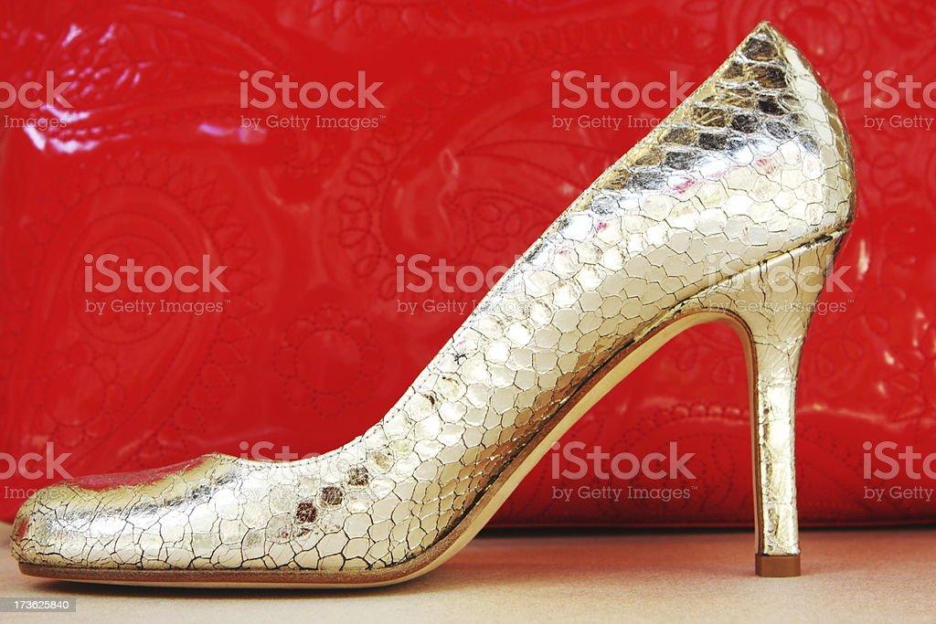 High Heel Shoe Fashion Apparel stock photo