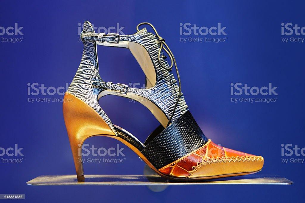 High Heel Shoe Stiletto Pump Fashion stock photo