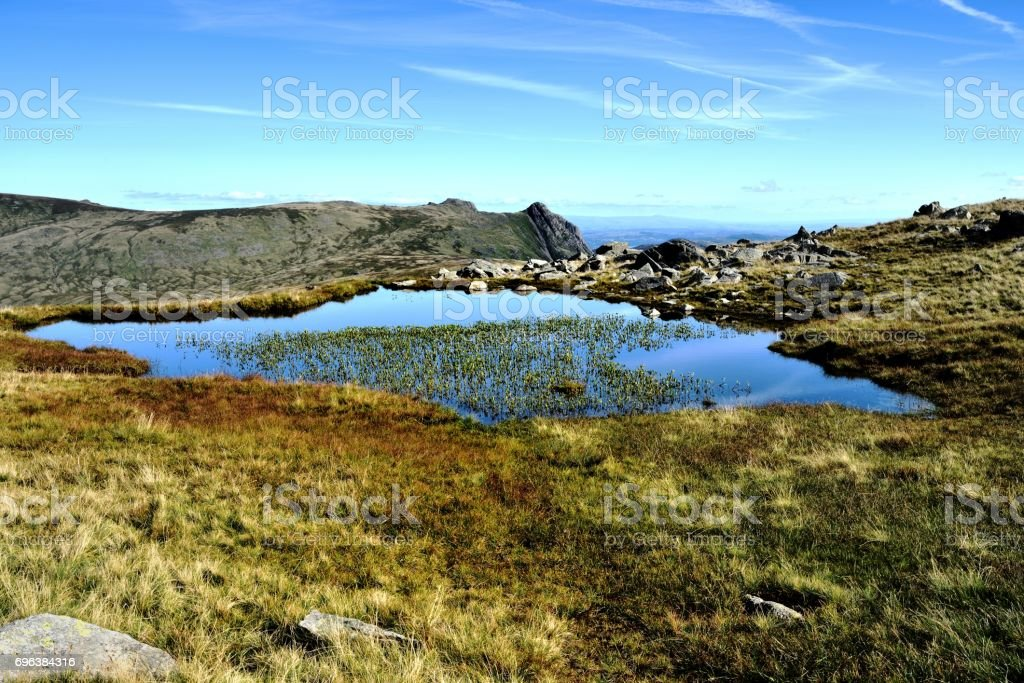 High House Tarn stock photo