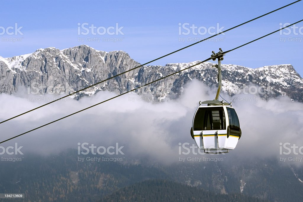 High in the Alps royalty-free stock photo