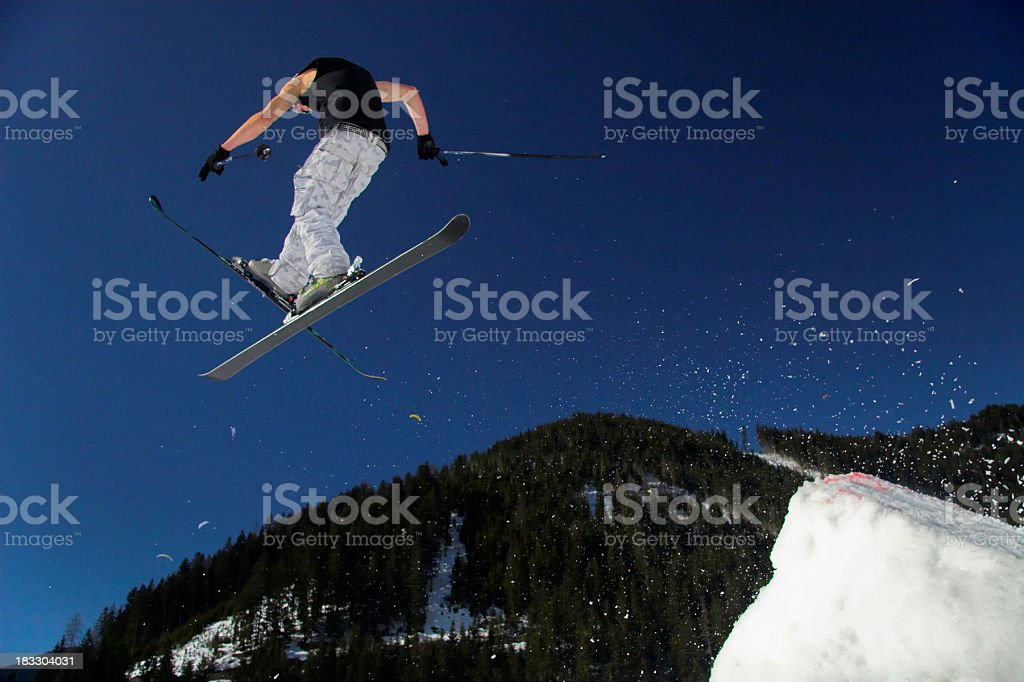 high in the sky! stock photo