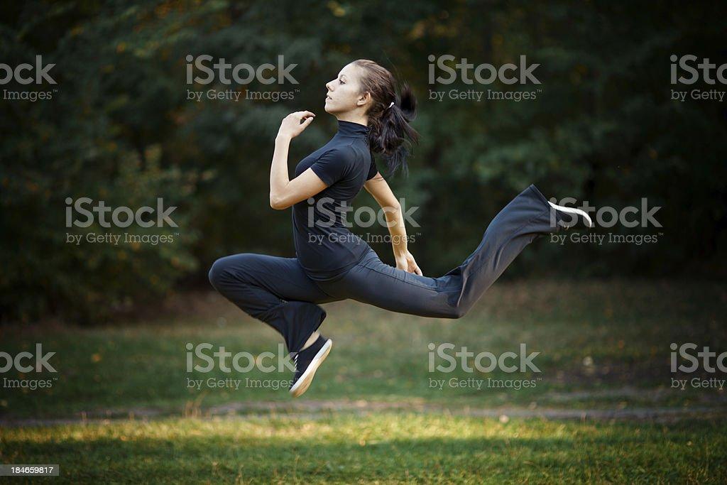 high jump royalty-free stock photo