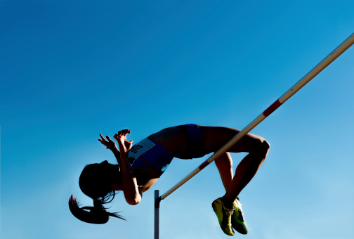 High Jumping Stock Illustrations  Royalty Free  GoGraph