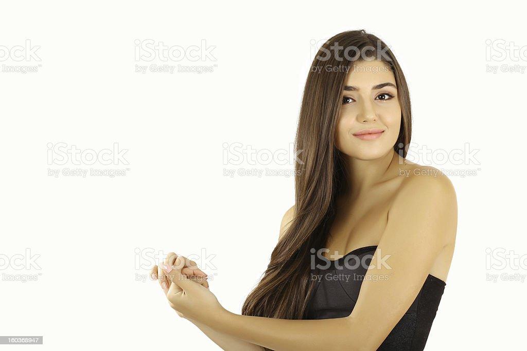 High Key Beauty royalty-free stock photo