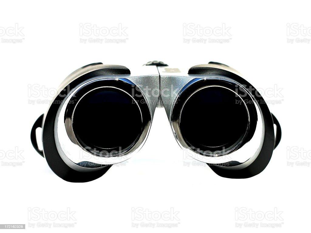 High Key - Binoculars royalty-free stock photo