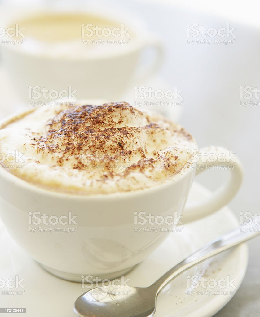 High Key Coffee royalty-free stock photo