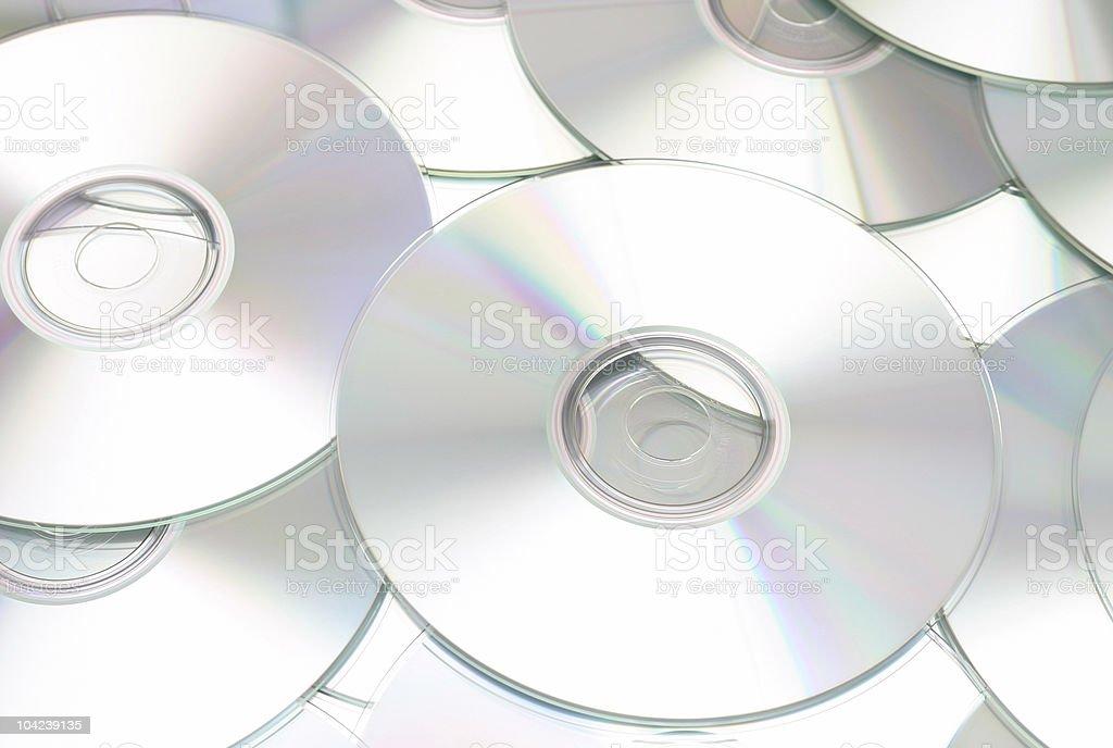 CD High Key royalty-free stock photo