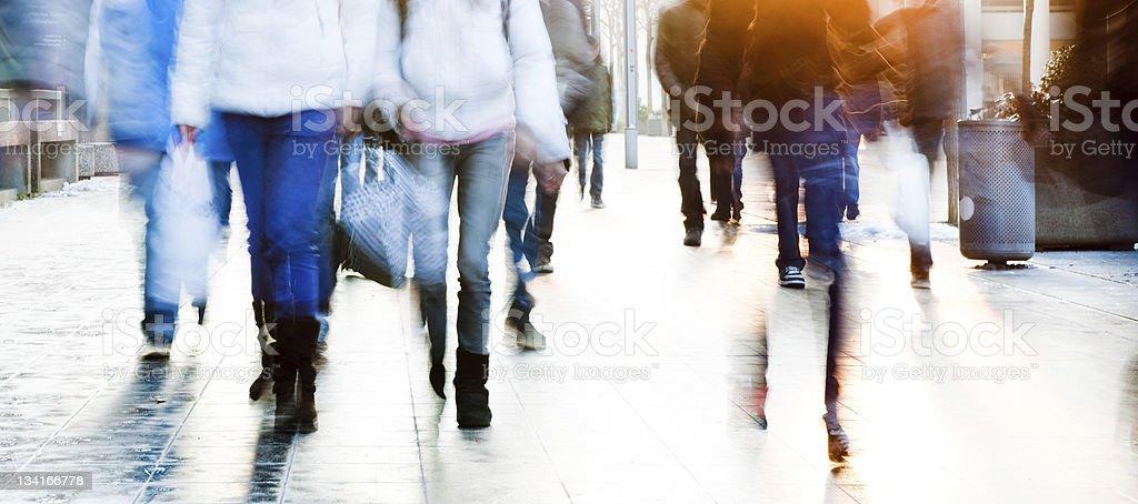 High Key School students stock photo