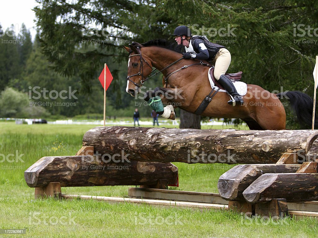 High Level Cross Country stock photo