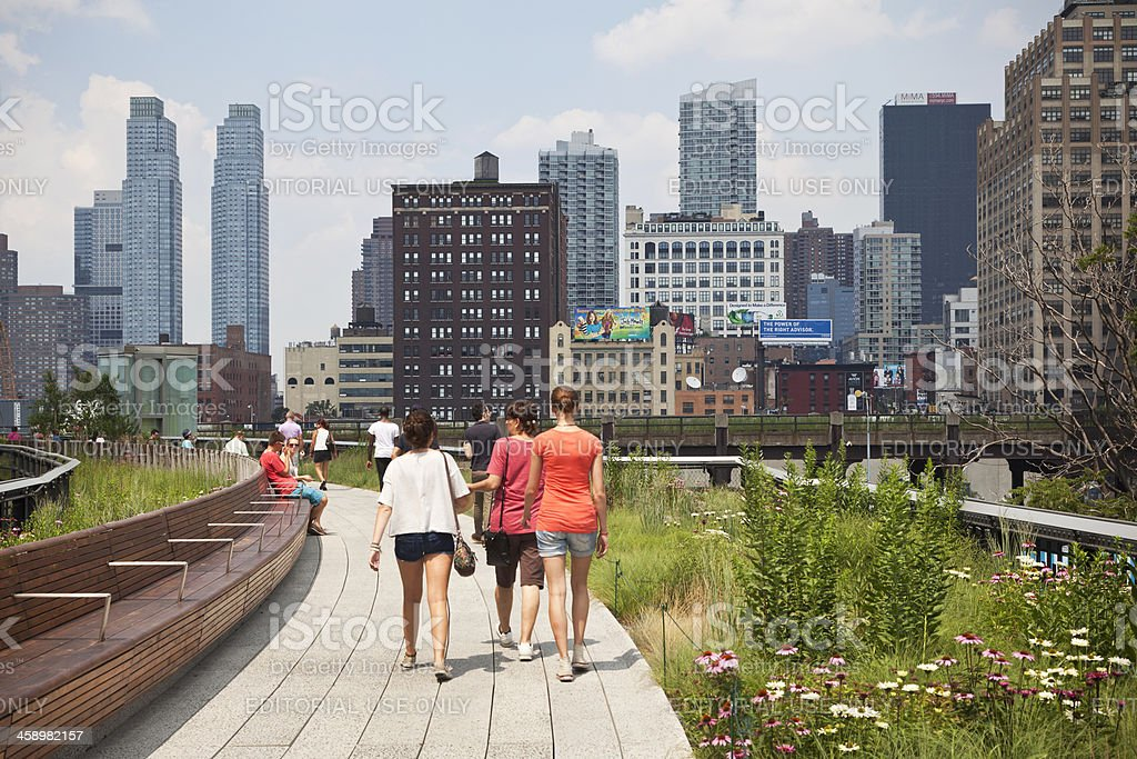 High Line Park NYC # 1 XXL royalty-free stock photo
