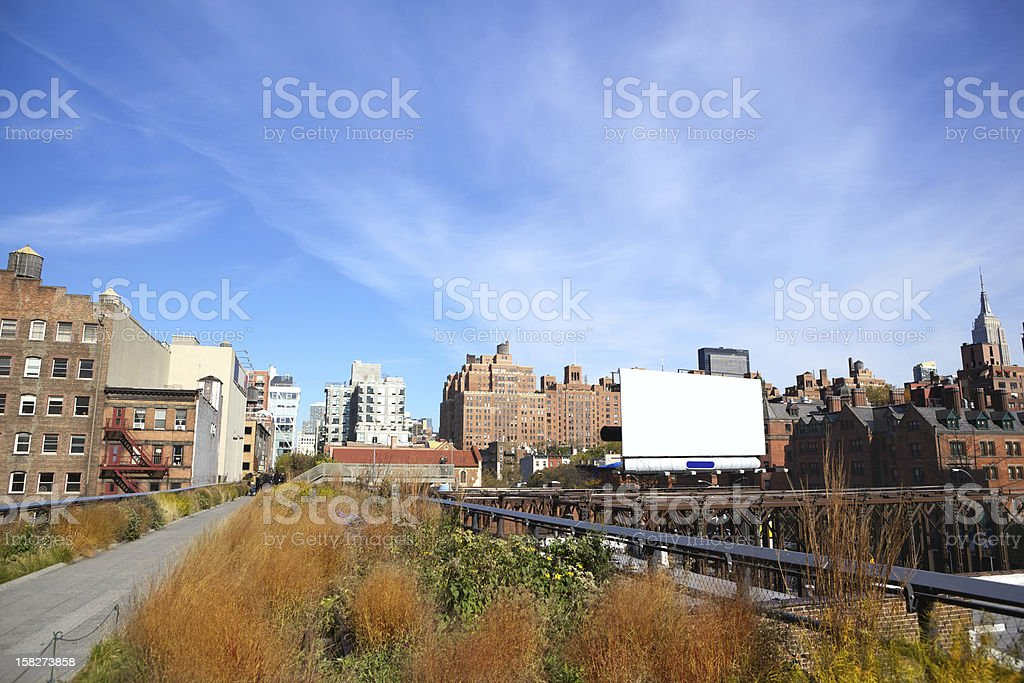 High Line stock photo