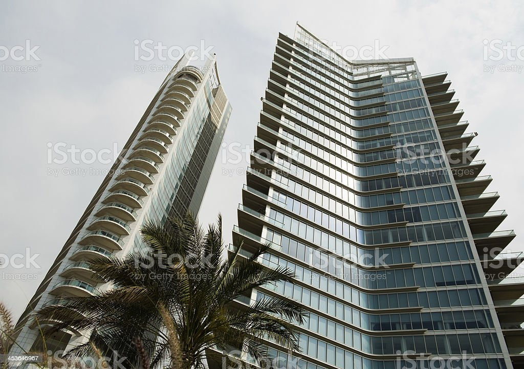 High Luxury Residential Buildings of Beirut. royalty-free stock photo