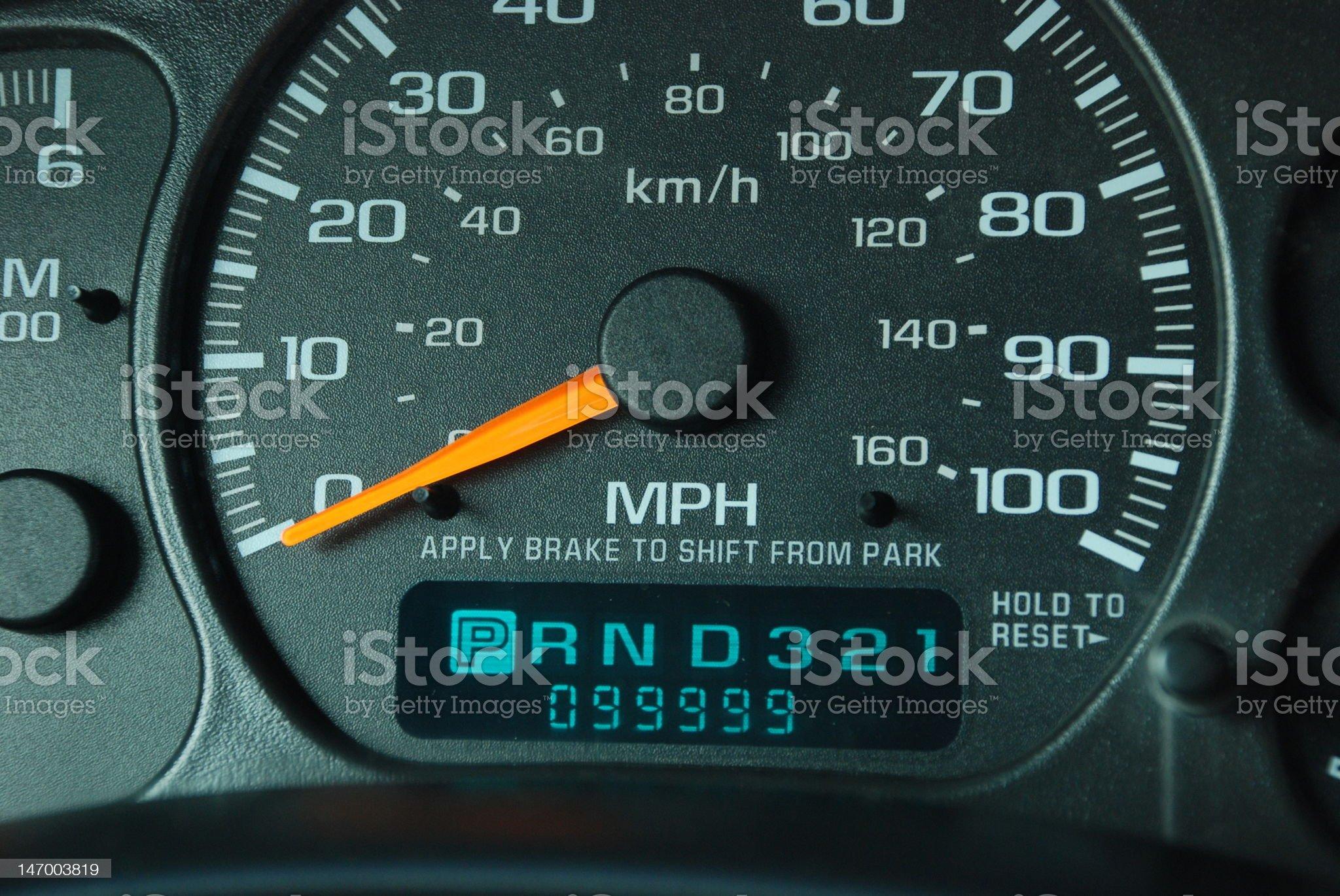 High Mileage Vehicle royalty-free stock photo