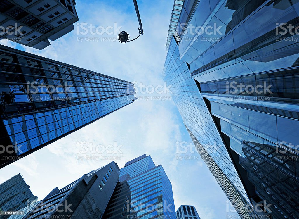 High modern skyscraper royalty-free stock photo