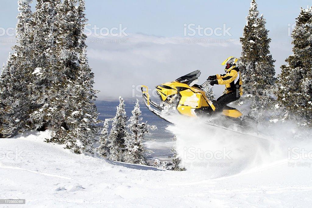 High mountain fun royalty-free stock photo