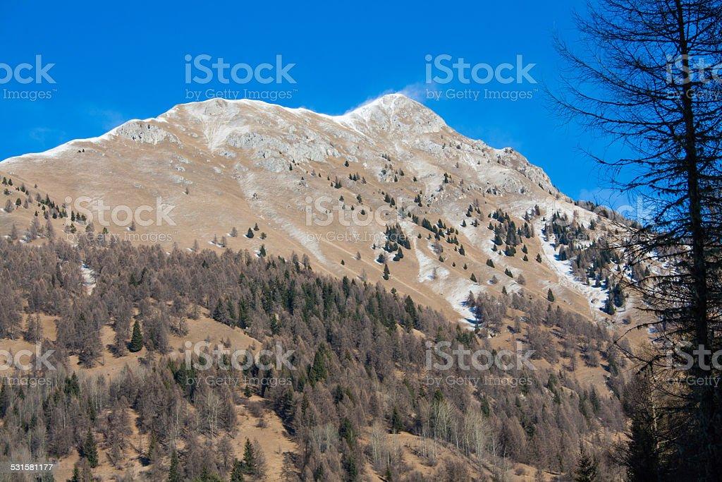 High mountain III stock photo