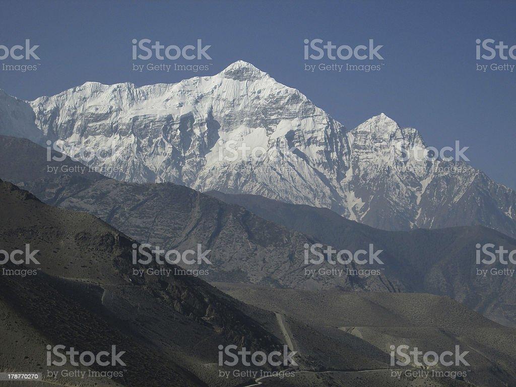 High mountain Nilgiri royalty-free stock photo