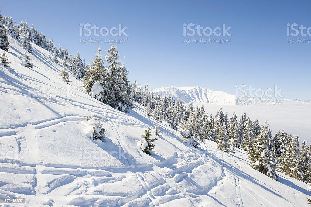 High Mountain royalty-free stock photo